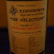 "Luxury Spirits「KINGSBURY'S ""The Selection"" Dufftown-Distillery 7years」"